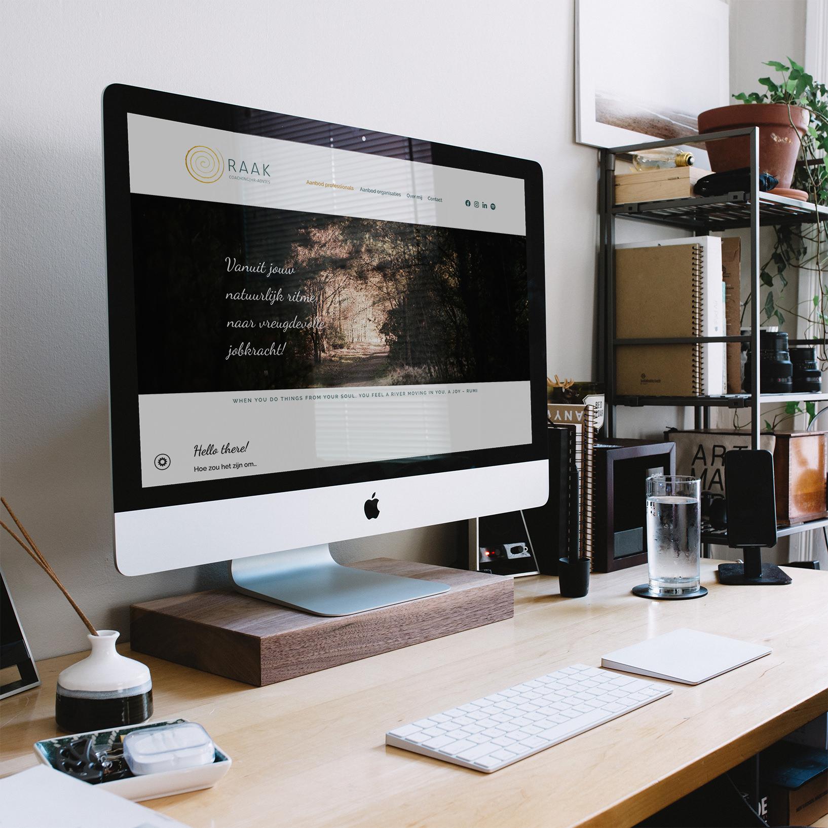 webdesign voor raak